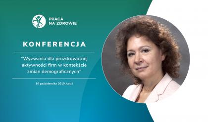Czy pracownicy w różnym wieku mają takie same potrzeby i oczekiwania zdrowotne? - dr Elżbieta Korzeniowska