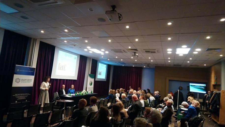 Zdjęcie zkonferencji, widok na sale igości.
