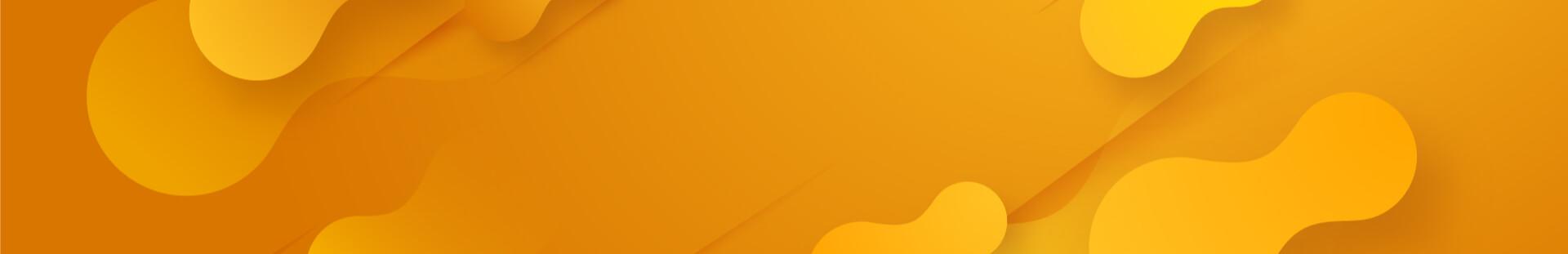 pomarańczowa grafika wektorowa w owalne elementy bez zaokrąglenia